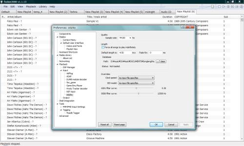 foobar2000 SID Decoder V1.31